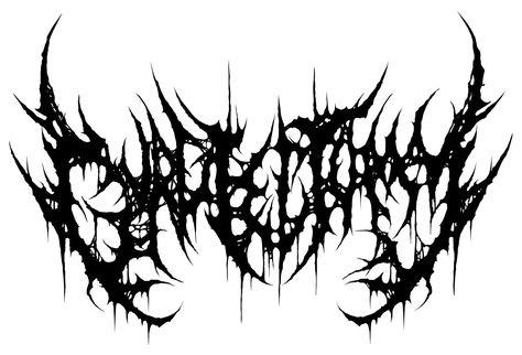 logo for plasmoptysis an indonesian technical death metal band rh pinterest com death metal band logo maker brutal death metal logo maker