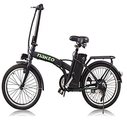 Nakto 20 250w Foldaway Electric Bike Sport Mountain Bicycle With