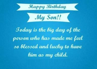 Birthday Wishes For Son In Hindi 17 Ideas Birthday With Images