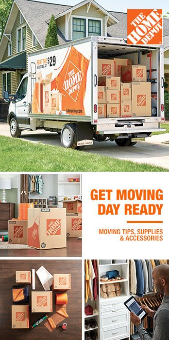The Home Depot Has Everything You Need For Your Move With A Wide