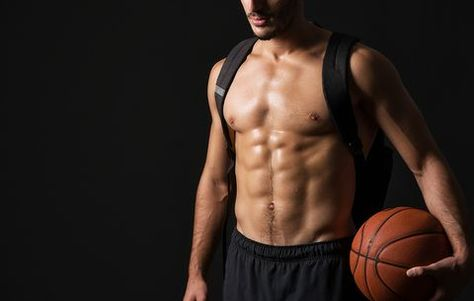 The Abs Workout You Can Do With a Basketball