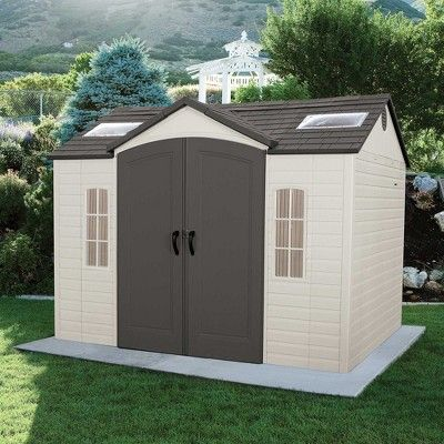 Garden Building Shed 10 X 8 Desert Sand Lifetime In 2020