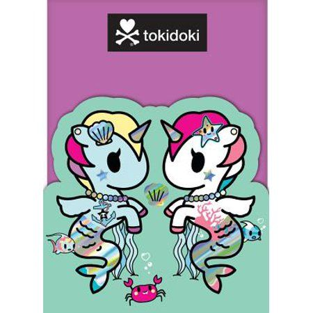 Tokidoki Mermicorno Sticky Notes Other Walmart Com In 2020 Tokidoki Tokidoki Characters Sticky Notes