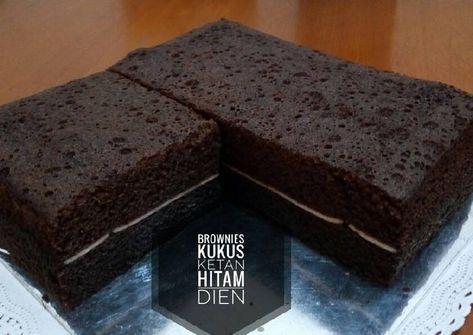 Resep Brownies Kukus Ketan Hitam Bikinramadanberkesan Oleh Dapur Dien Resep Resep Brownies Kue