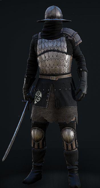 Ninja Medium Armor Mordhau Mercenaries Medium Armor Armor Wearable