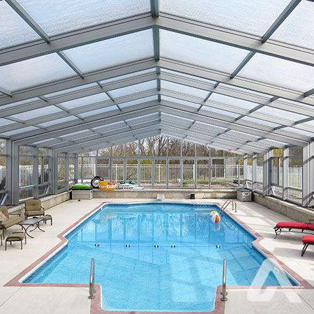 Polycarbonate Pool Enclosure Pool Enclosures Pool Swimming Pools