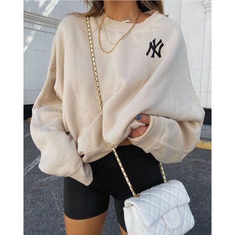 Modern Printed Color Long Sleeve Sweatshirt