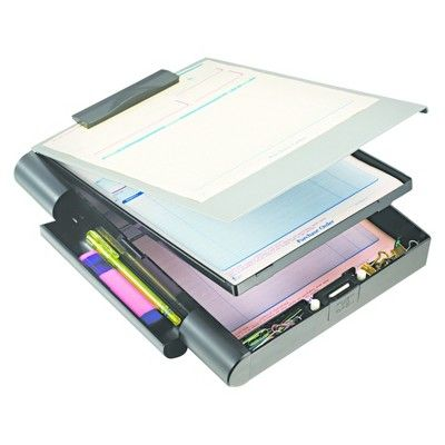 A New Generation Of Form Holders Features Durable Plastic Construction And An Ergonomic Soft Push Button Opening Interna Clipboard Storage Clipboard Storage