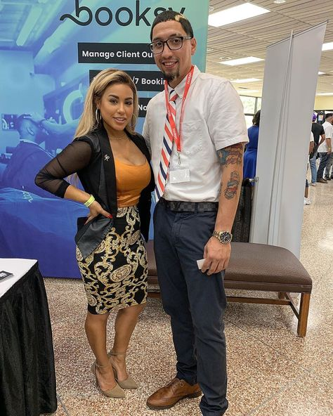 Me And My Future Ex Wife At The Txbarberexpo Christyclips Barberlife Baberlove Faded Stayfaded Houston Te Hair Blog Cool Haircuts Mens Hairstyles