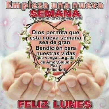 Feliz Lunes Tarjeta De Buenos Deseos Feliz Lunes Y