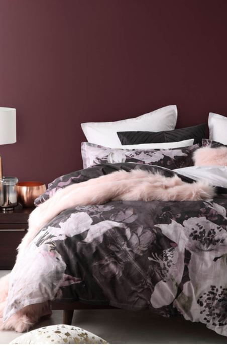 Logan And Mason Isobel Quilt Cover Set Qb Harris Scarfe Bed