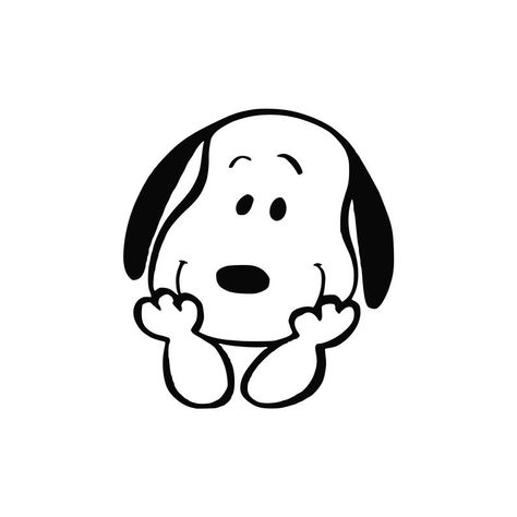 Snoopy svg Cartoon svg Cartoon dog Svg files for Cricut | Etsy