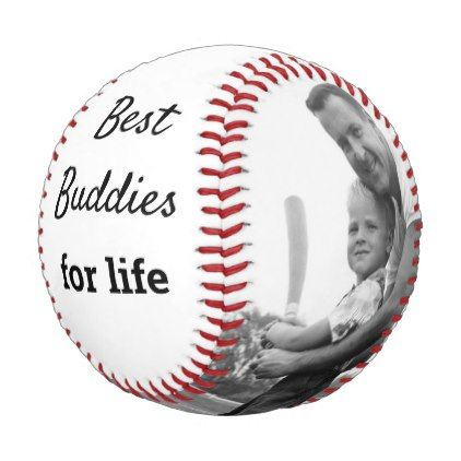 Personalized Father And Son Best Baseball Buddies Zazzle Com Baseball Gifts Father Son Gifts For Dad
