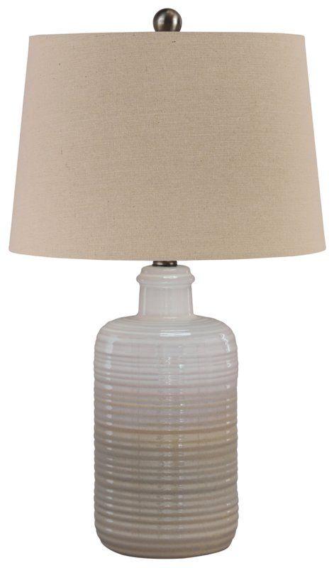 Highland Dunes Elva 24 Table Lamp Reviews Wayfair Lamp Decor Fabric Shades