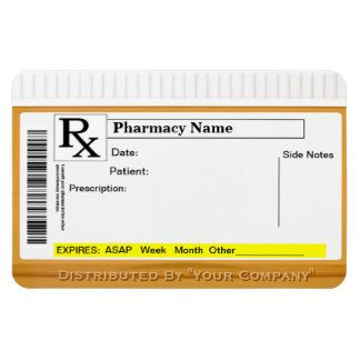 Rx Label Template Halloween Bottle Labels Prescription
