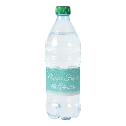Crystals Personalized Water Bottle
