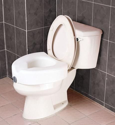 Harvy Raised Toilet Seat Toilet Blow Molding Walking Canes