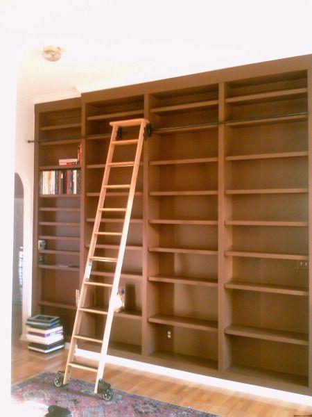 Spirewood Studio Residential Work Tall Bookcases With Ladder Bookcase Tall Bookcases Ladder Bookcase