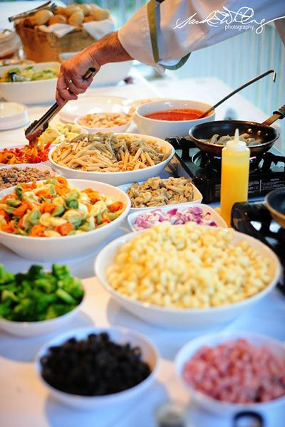 25 Interactive Food Station Ideas Wedding Buffet Food