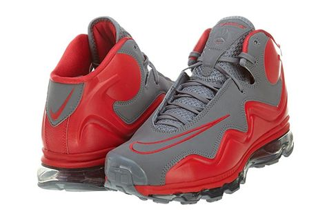 new product 19ba9 39e40 Amazon.com  Nike Air Max Flyposite  Cool GreyHyper REd 536850-001   Basketball