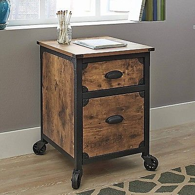 Rustic Wood File Cabinets 2 Drawer Filing Cabinet Wood File Western Furniture
