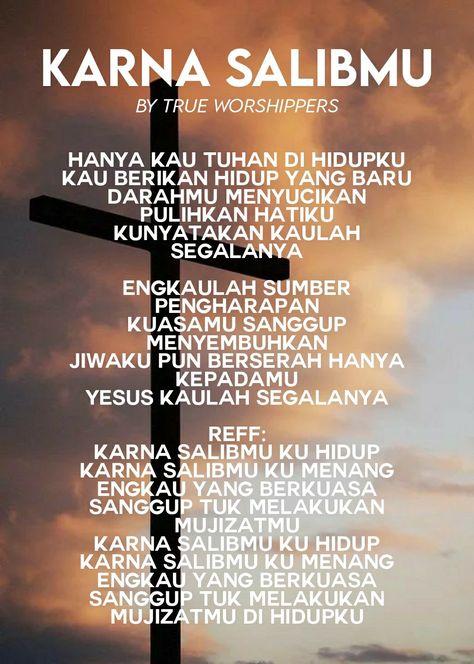 Lirik Mengejar Hadirmu : lirik, mengejar, hadirmu, Karna, SalibMu, Worshippers, Lirik/Lyrics, Lagu,, Lirik, Yesus