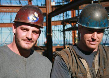Iron workers | Iron worker local 40 | Iron, Iron man, Construction