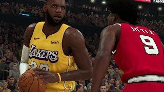 Lakers Vs Trail Blazers Full Game Highlights Nba Today 1 30 Los Angeles Vs Portland In Nba 2k With Lebron James And Anthony In 2020 Nba Today Lakers Vs Trail Blazers