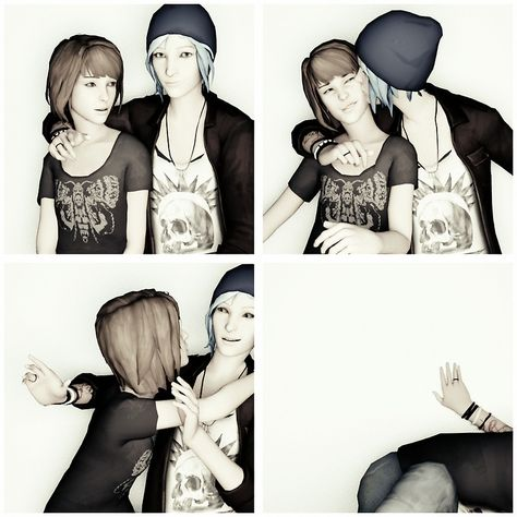 Max & Chloe - Photo-Booth - Life is Strange