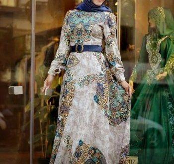 صور ملابس بنات محجبات 2018 اشيك ازياء محجبات تركي ميكساتك Abaya Fashion Women Long Dresses Hijab Fashion