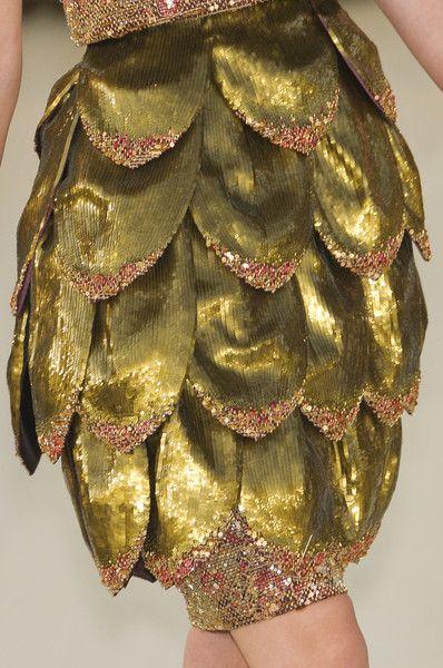 artichoke dress - Chanel Couture