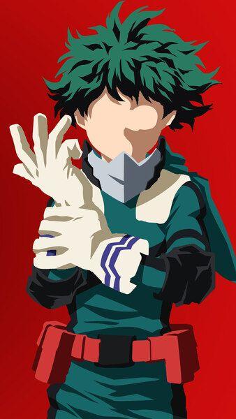 Izuku Midoriya Minimalist My Hero Academia 4k Hd Mobile Smartphone And Pc Desktop Laptop Wallpaper 38 My Hero Academia Episodes Hero My Hero Academia Manga
