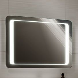 700x500mm Quasar Illuminated Led Mirror With Images Bathroom Mirror Lights Led Mirror Bathroom Mirror With Lights