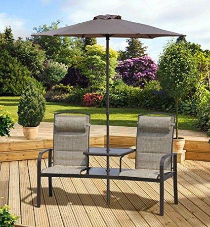 parasol furniture patio table