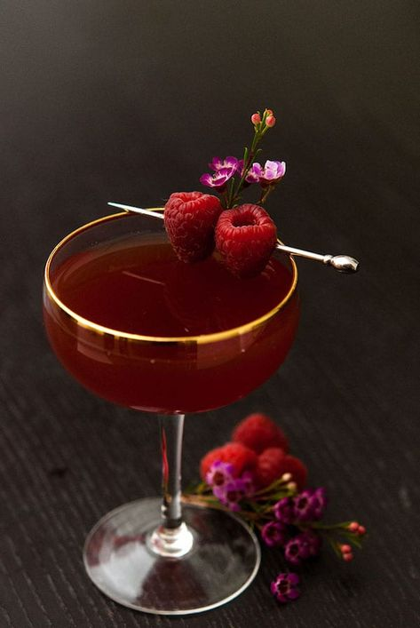 Make this Valentine's Day cocktail to really put you in the mood! This Damiana tea and sake cocktail is a divine Valentine aphrodisiac! Cocktail Garnish, Cocktail Drinks, Fun Drinks, Yummy Drinks, Cocktail Recipes, Cocktail Sauce, Cocktail Movie, Cocktail Attire, Vodka Cocktails