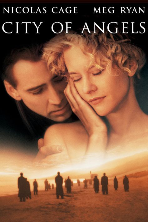 City of Angels Movie Poster - Meg Ryan, Nicolas Cage, Andre Braugher…