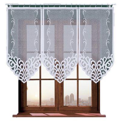 Panel Azur Firana Gotowa Zakard Okazja 75x120 Zur 8140108458 Oficjalne Archiwum Allegro Valance Curtains Curtains Home Decor