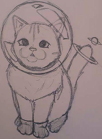 Bleistiftzeichnungen Zeichnungen Zeichnung Bleistift Zeichnung Wenn sich ihr kaffee in eine katze verwandelt sitzen sie. zeichnung bleistift