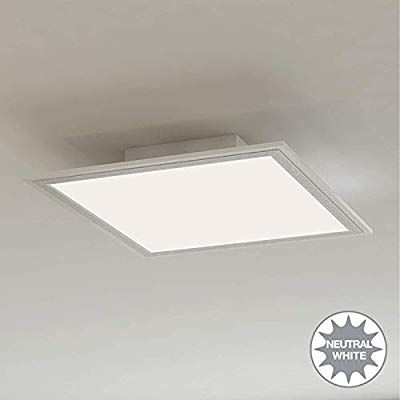 Briloner Leuchten Led Deckenleuchte Panel Led Lampe Wohnzimmer Lampe Deckenlampe Deckenstrahler 12w Quadrati In 2020 Led Lampe Deckenstrahler Led Deckenleuchte