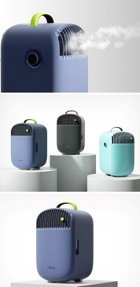 Summers just became more bearable thanks to this portable air conditioner with a built-in mini fridg