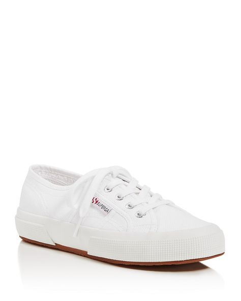Superga Classic Lace Up Sneakers Shoes