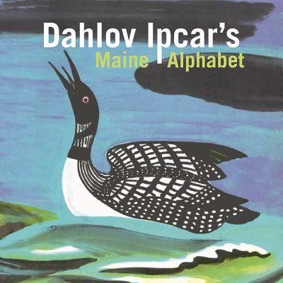 Books Alphabet Board Maine Illustration