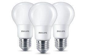 Flash Prime Pack De 3 Bombillas Led Philips E27 Blanco Calido Por Solo 5 25 Pvp 10 99 Bombillas Led Led Bombillas