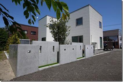 コンクリート 塀 おしゃれ の画像検索結果 玄関アプローチ