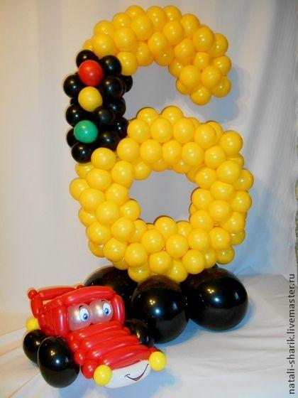 Машинка из шаров какой - a4bce