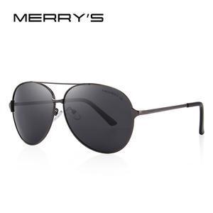 3b0e0984553 MERRY'S DESIGN Men/Women Classic Aviation Polarized Driving ...