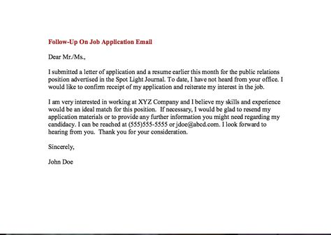job follow up email examples - http\/\/resumesdesign\/job-follow - follow up after interview