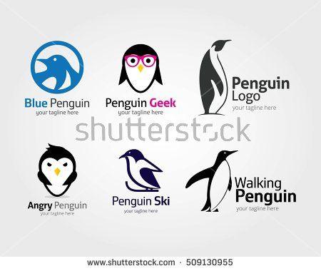 Abstract penguin logo Vector penguin logo design template LOGO - penguin template