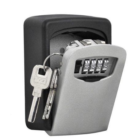 Home Storage Box With Lock Key Storage Key Box