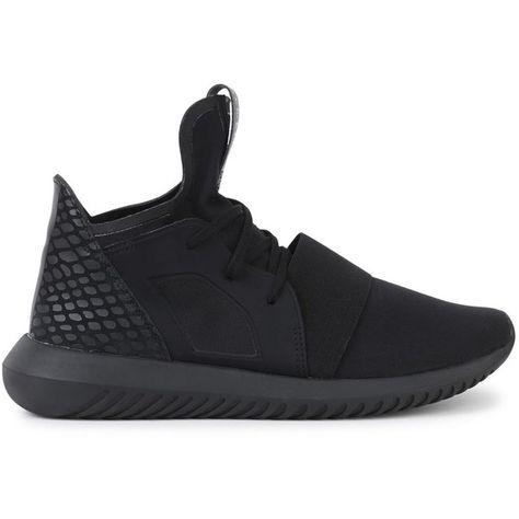 reputable site a3e42 7a32a Womens Low-Top Trainers Adidas Originals Tubular Defiant Black... (130)